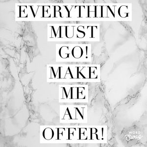 Other - MAKE ME AN OFFER! 😘❤️